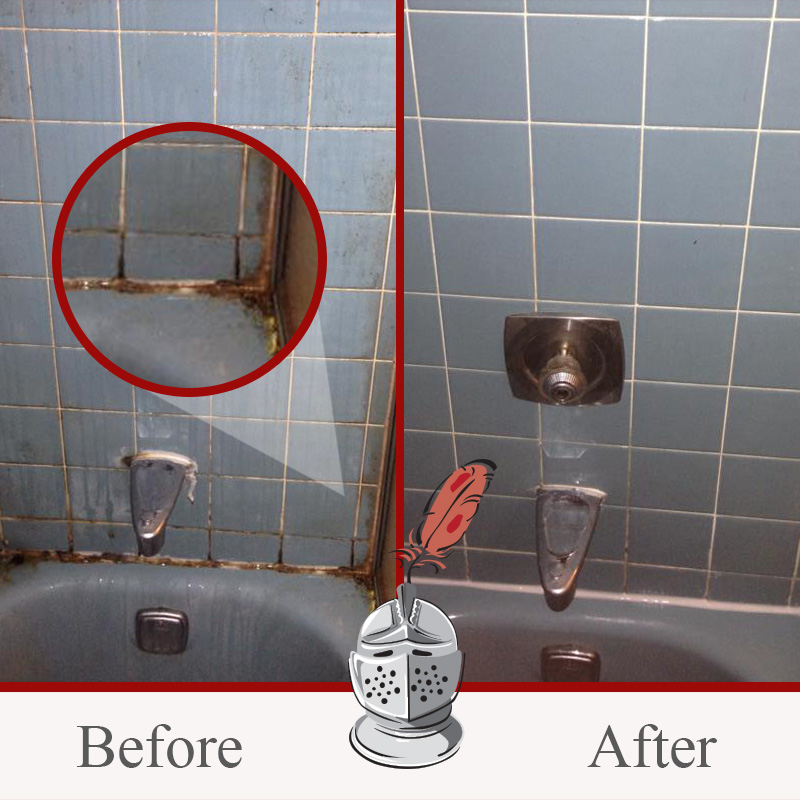 Surface Mold In Bathroom best way to clean moldy shower grout