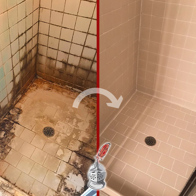 Before And After: Showers