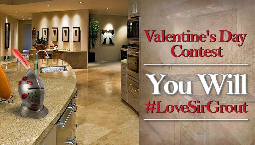 Love Sir Grout Valentine's Day Contest