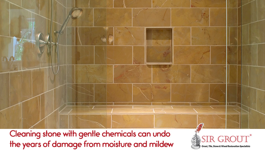 Sir Groutu0027s Stone Cleaning And Sealing Service Can Prolong The Life Of Your  Shower
