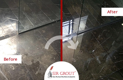 Marble Honing And Polishing A Quick And Easy Solution For
