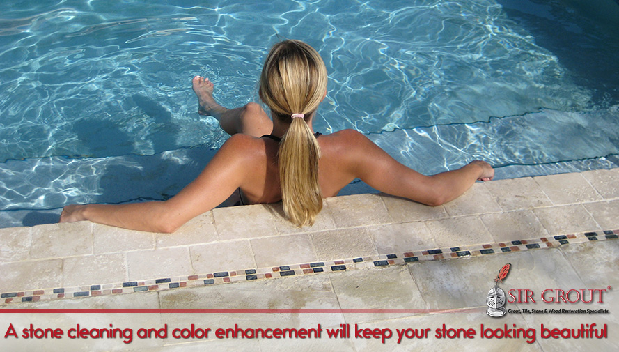 A stone cleaning and color enhancement will keep your stone looking beautiful