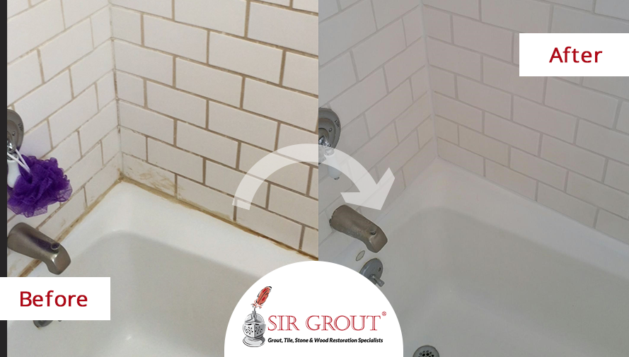 Bathroom Grout Cleaner get rid of rust and dye stains in your shower with a tile and