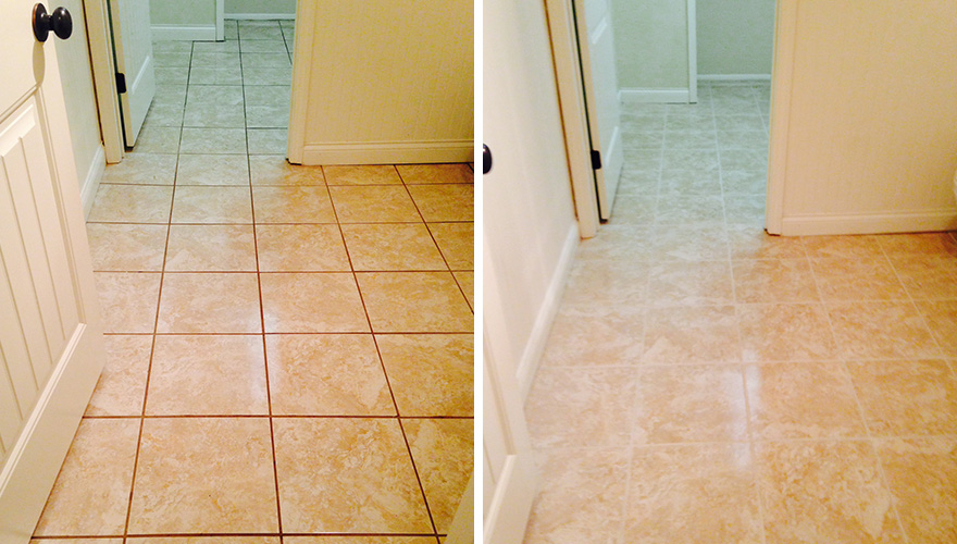 Before And After Tile And Grout Sir Grout