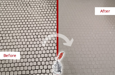 Residential Grout Recoloring and Sealing - Sir Grout