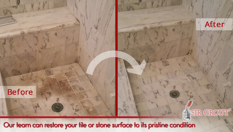 Our team can restore your tile or stone to its pristine condition