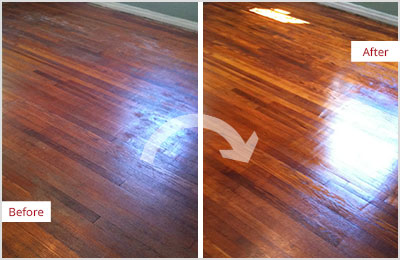 Sir Grout Wood Refinishing Sandless