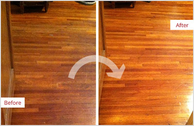 Sir Grout Sandless Wood Refinishing
