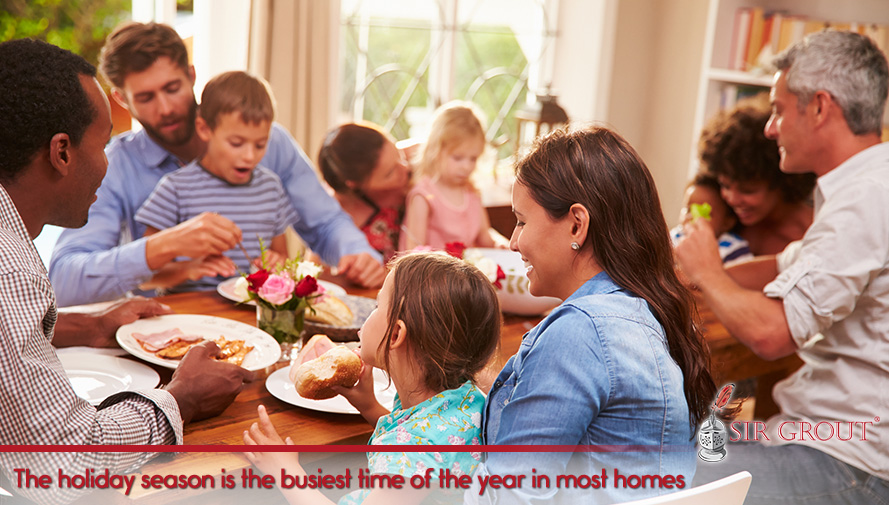 The holiday season is the busiest time of the year in most homes