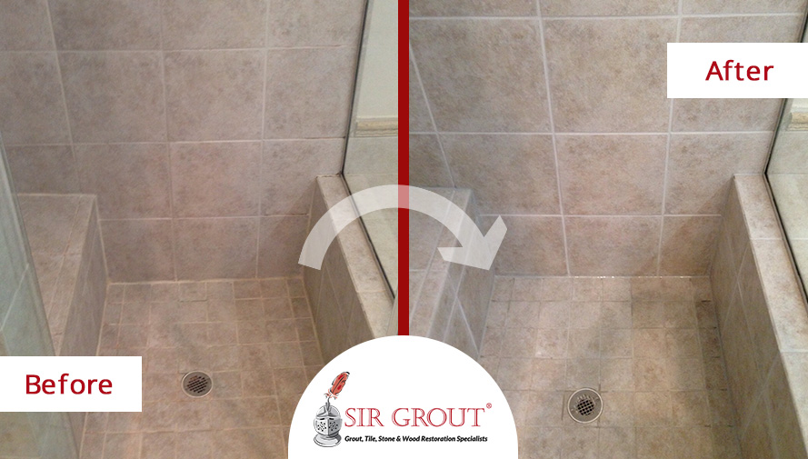Grout Recoloring and Sealing