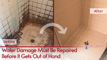 Hard Surfaces After Water Damage, Bathroom Floor Repair Water Damage Cost
