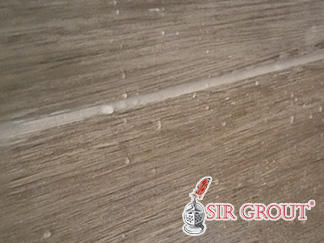 Picture of brown grout and tiles