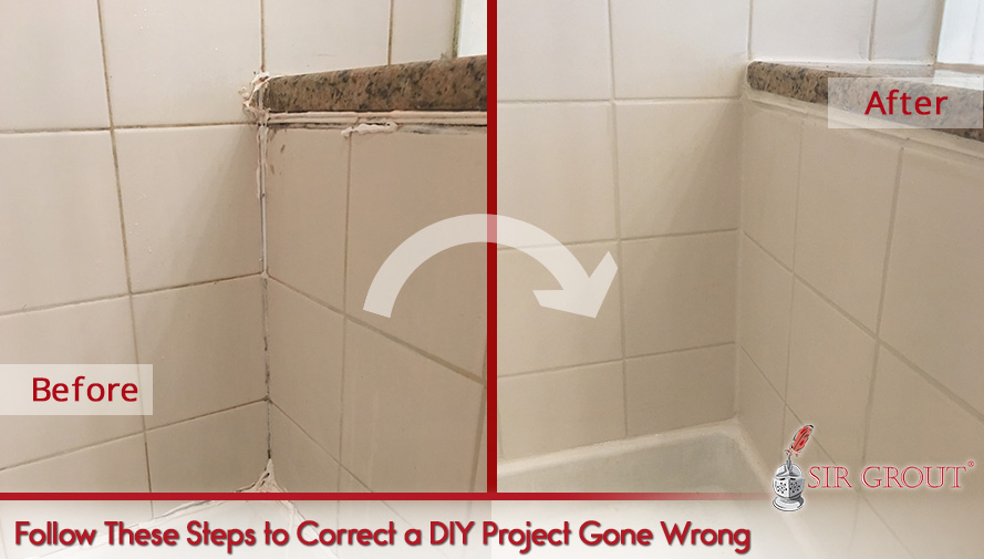 Follow These Steps to Correct a DIY Project Gone Wrong