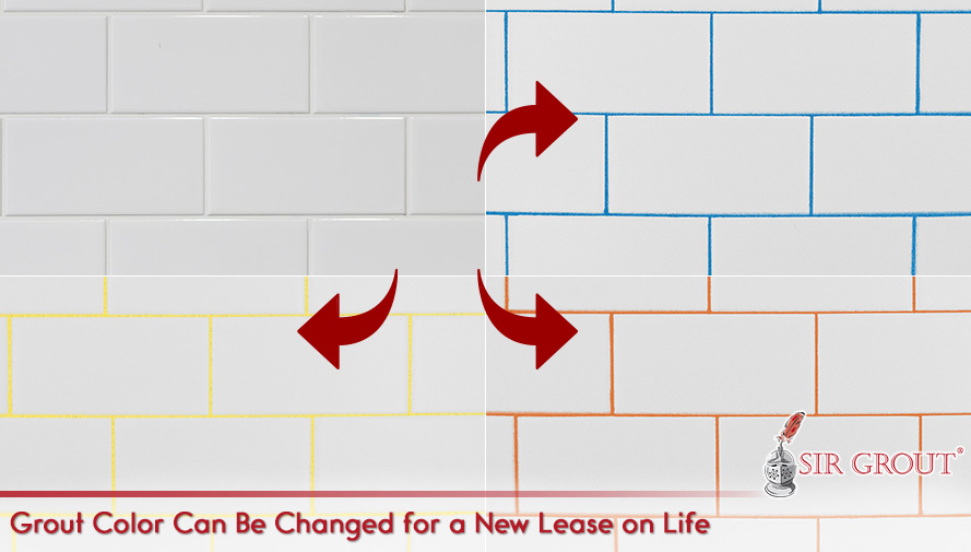 Grout Color Can Be Changed for New Lease on Life