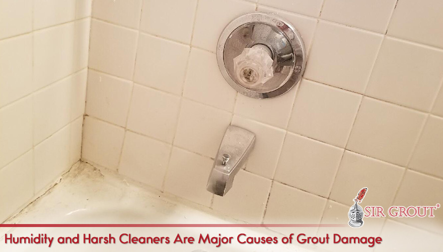 Humidity and Harsh Cleaners Are Major Causes of Grout Damage