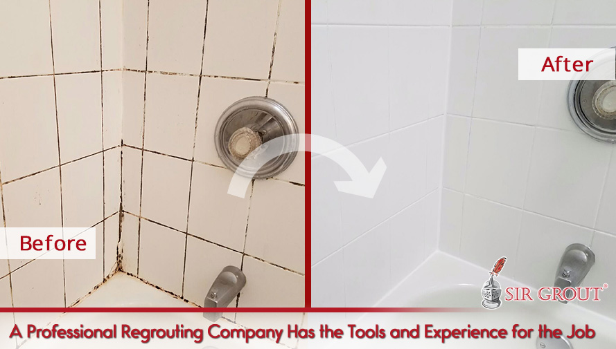 A Professional Regrouting Company Has the Tools and Experience for the Job
