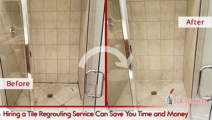 Hiring a Tile Regrouting Service Can Save You Time and Money