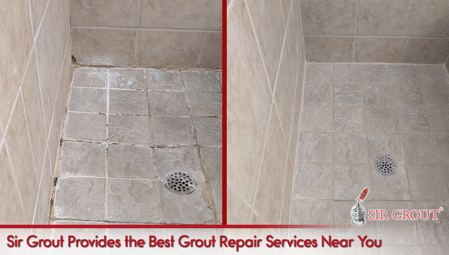 Sir Grout Provides the Best Grout Repair Services Near You