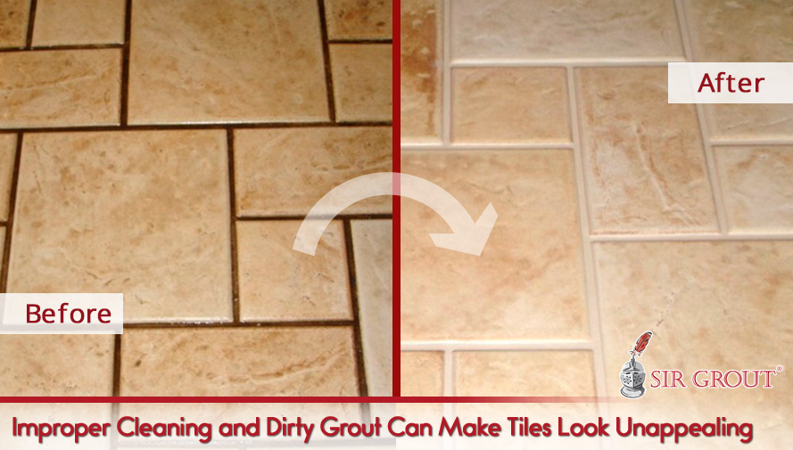 Improper Cleaning and Dirty Grout Can Make Tiles Look Unappealing