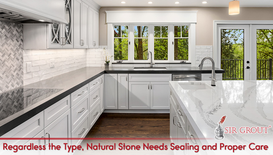 Regardless the Type, Natural Stone Needs Sealing and Proper Care