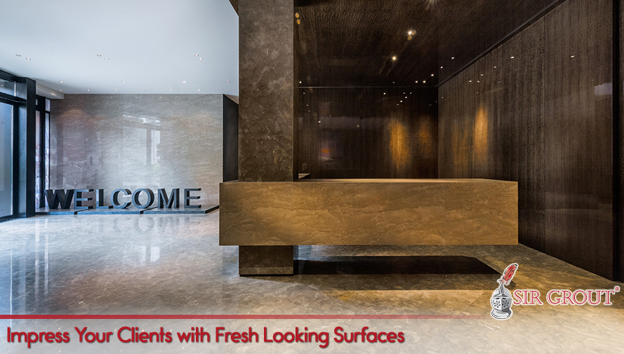 Impress Your Clients with Fresh Looking Surfaces